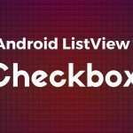 android listview with checkbox