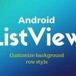 Android listview background row style: Rounded Corner, alternate color
