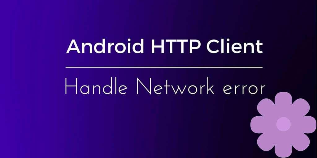 http client network error