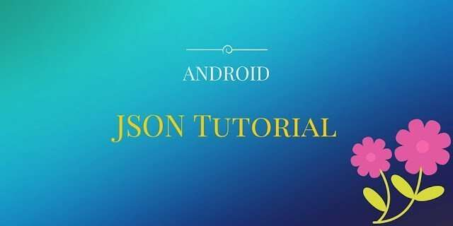 parse json data in android