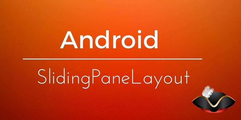 android slidingpanelayout