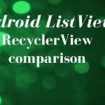 Android RecyclerView – Listview Guide