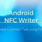 Write NFC tag in Android: How to
