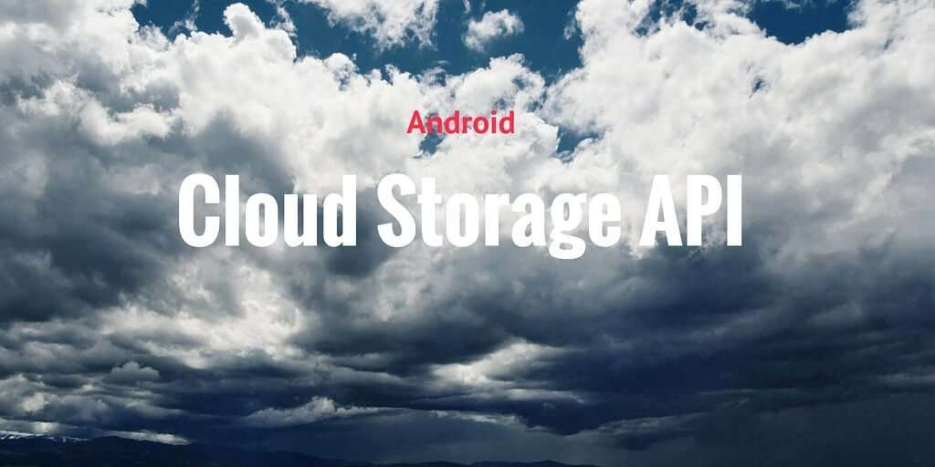 android cloud api