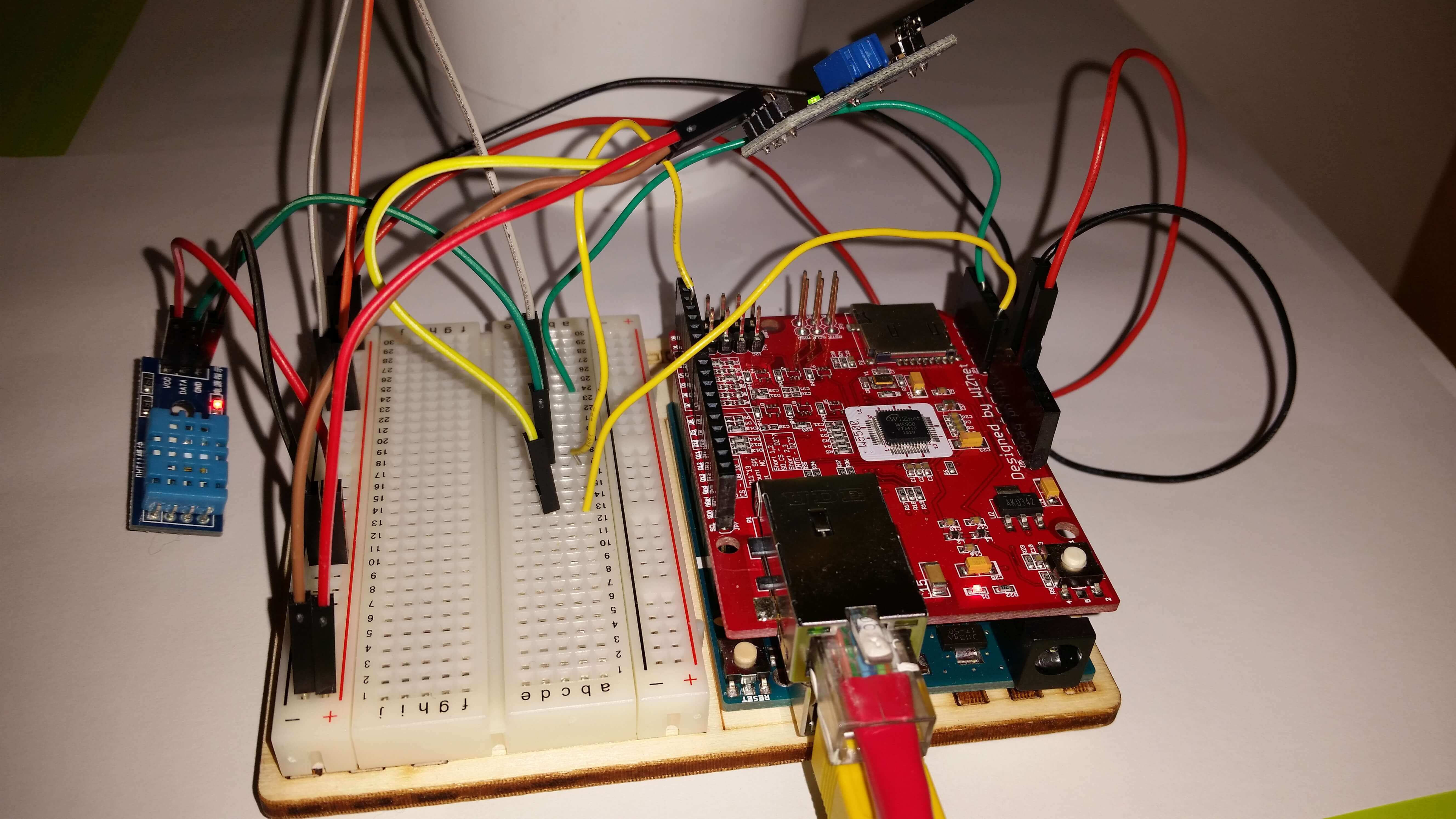 Arduino data logger project iot cloud platform and