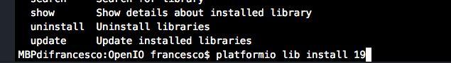 arduino install library