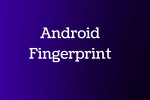 android fingerprint example