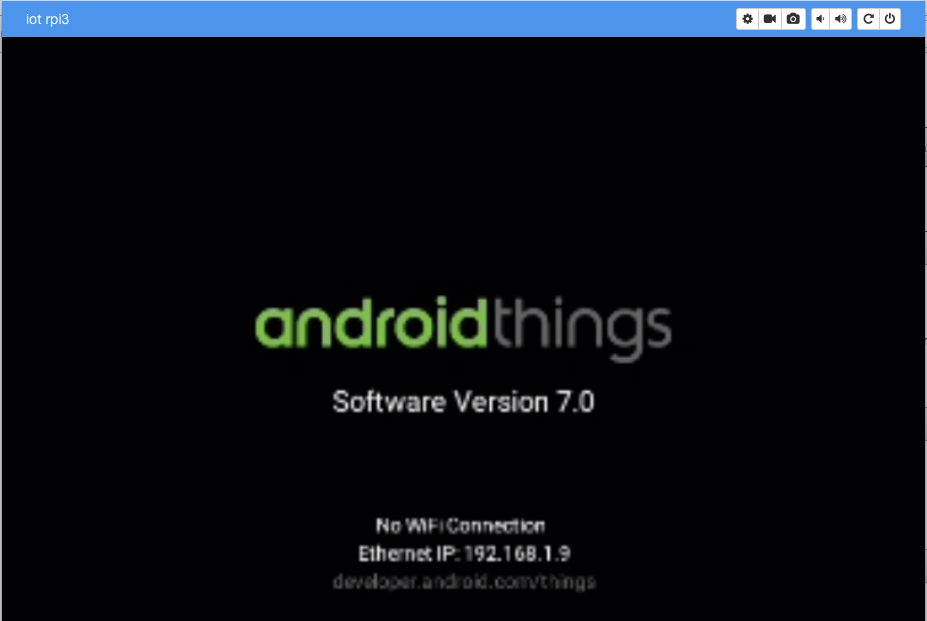 android things startup
