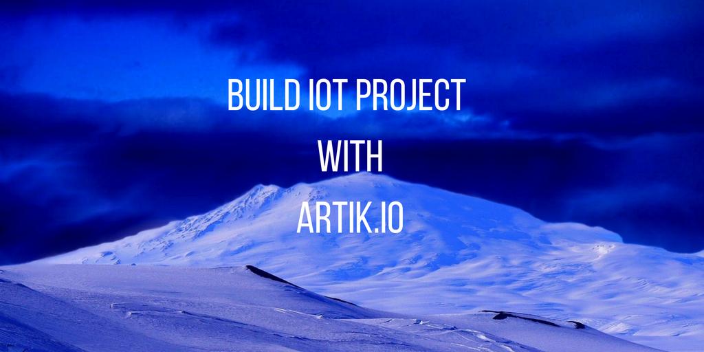 create artik iot project