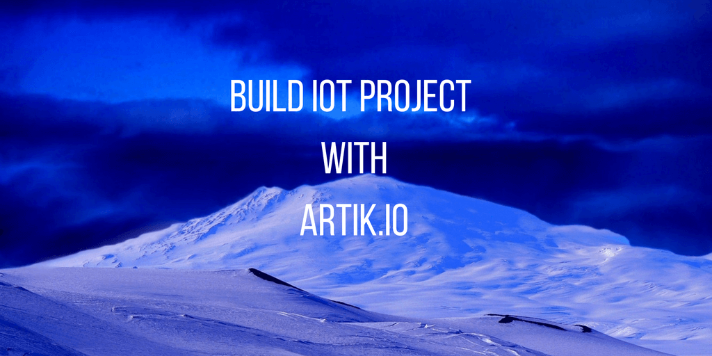 create artik iot project