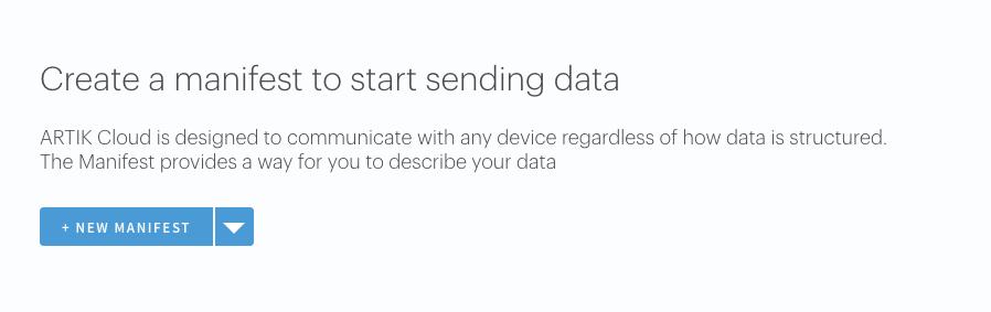 samsung artik sending data