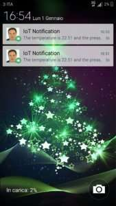 IoT android notification