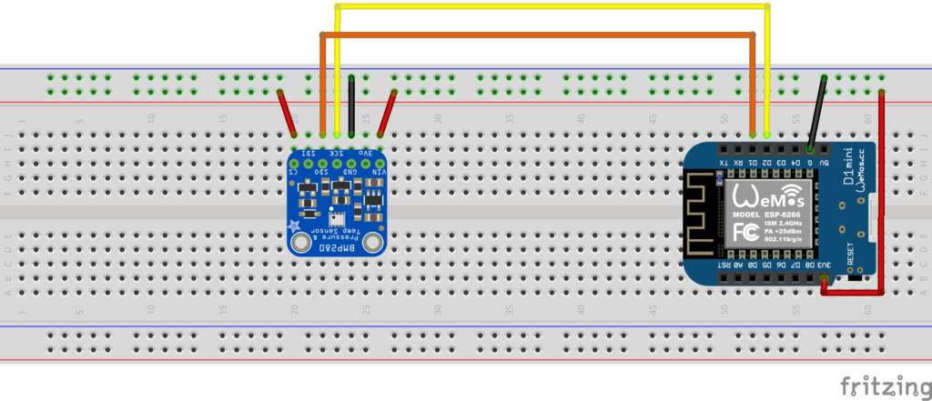 ESP8266 with temperature sensor to send notification using PushBullet