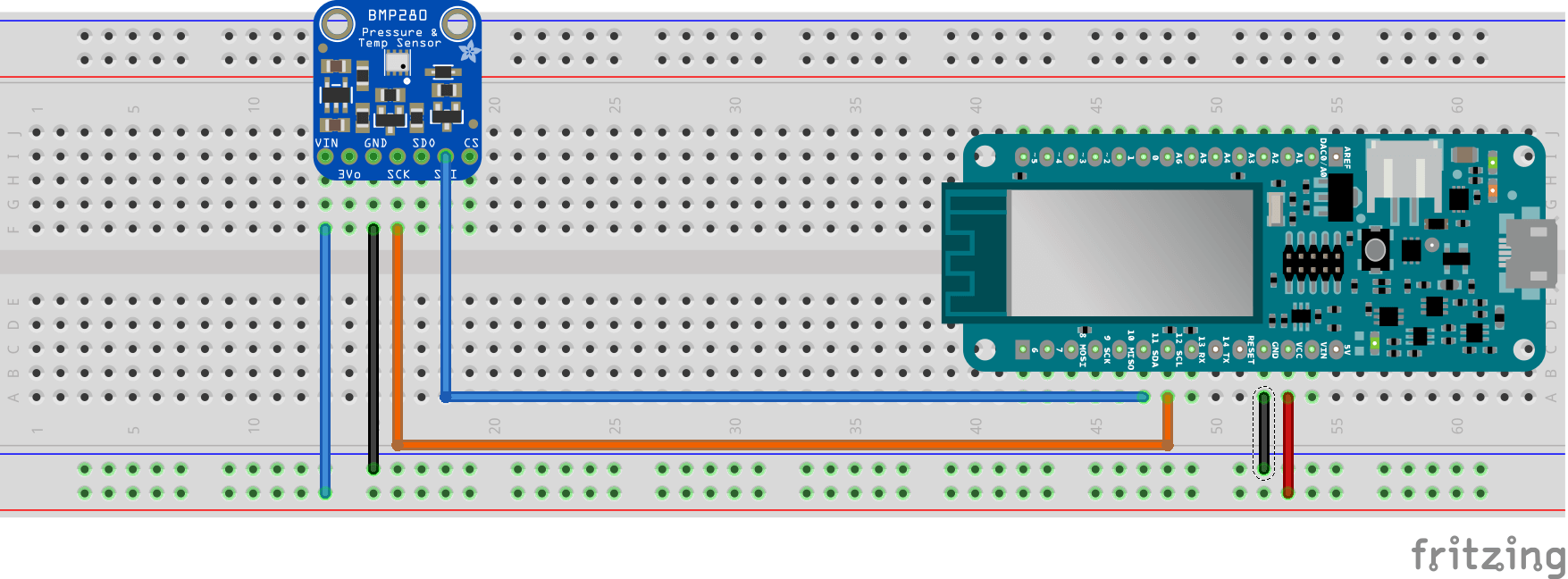 Getting started with Internet of things using Arduino and Google: MRK1000 temp pressure sensor