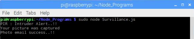 surveillance raspberry pi 3