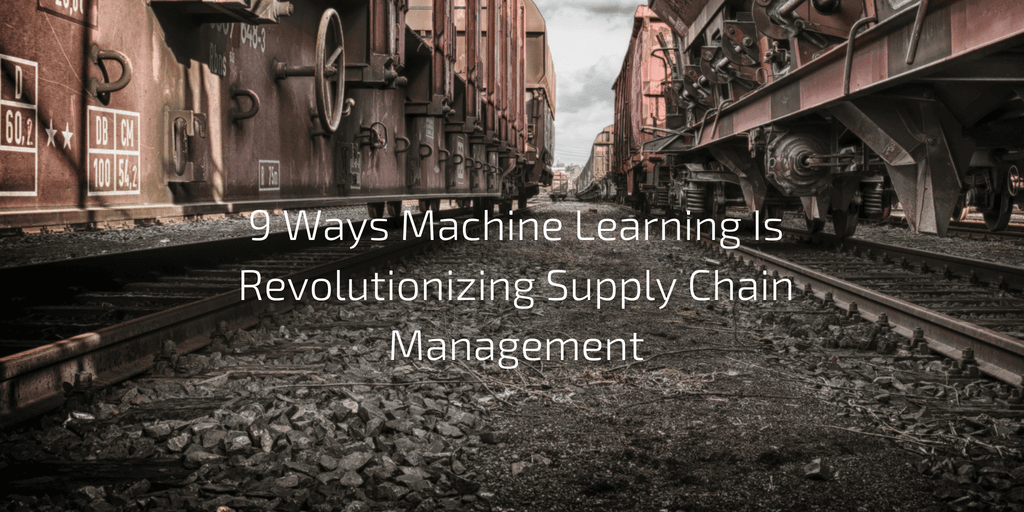 Machine learning and supply_chain