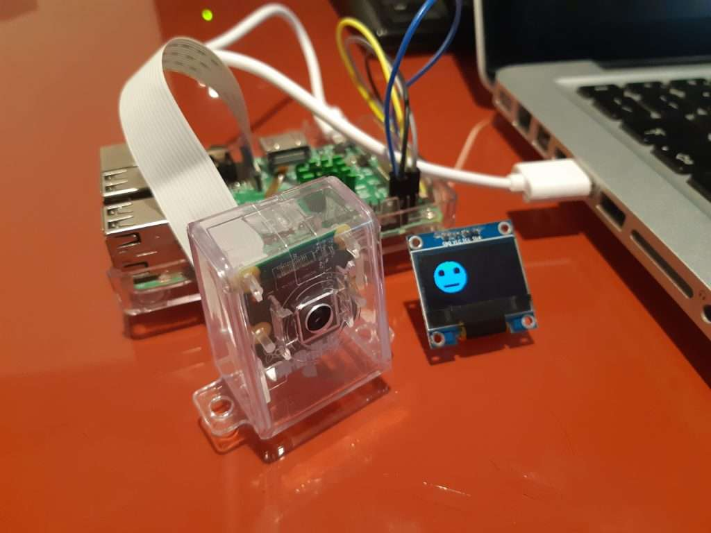 Face detection API with Android Things and Raspberry Pi