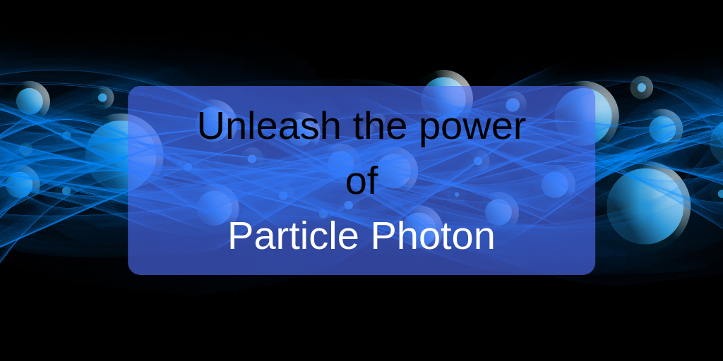 particle photon tutorial