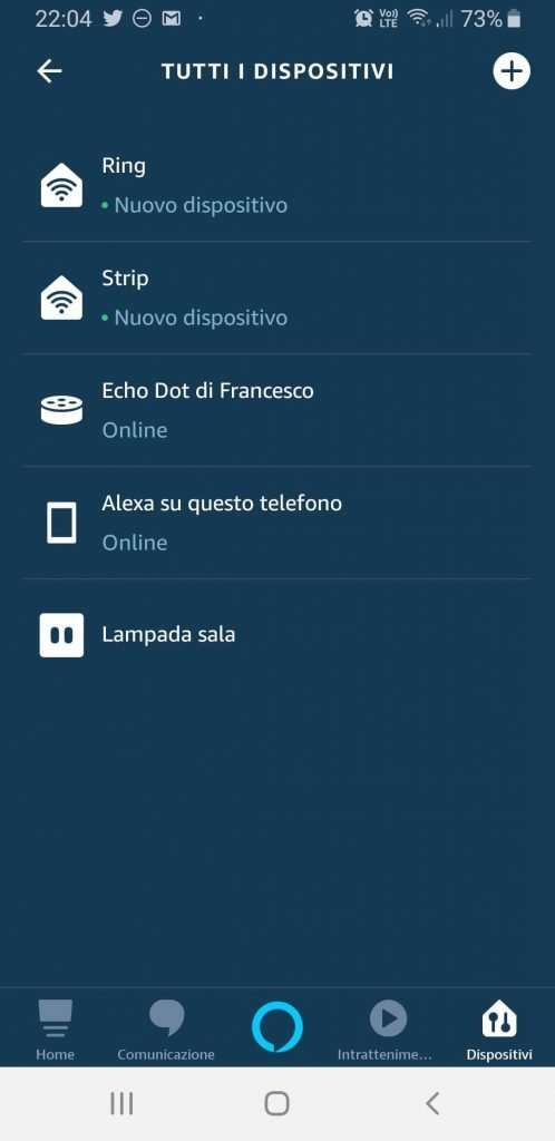 Amazon Echo with devices (ESP8266) connected