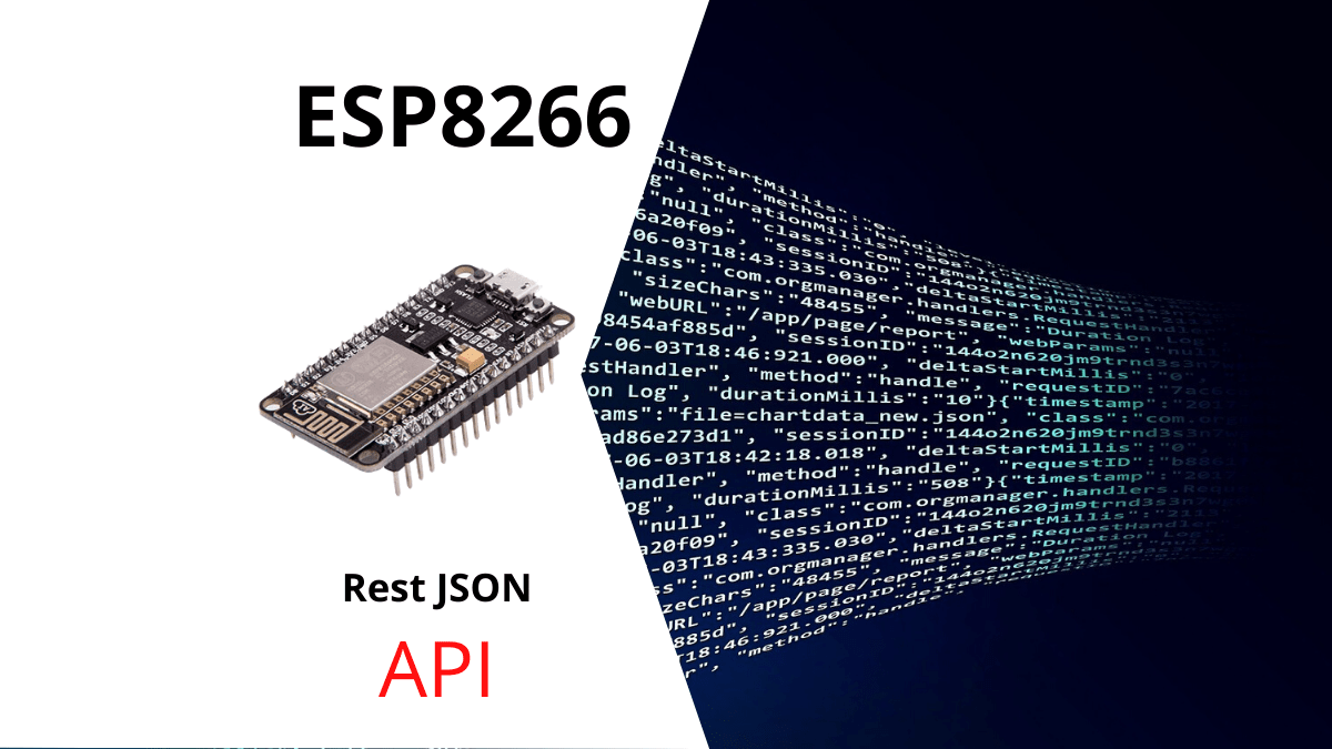 ESP8266 resp json api