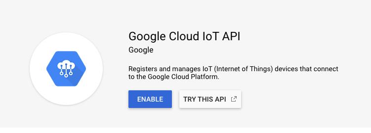 Google Core IoT API
