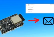 Send email using ESP32 with SMTP server