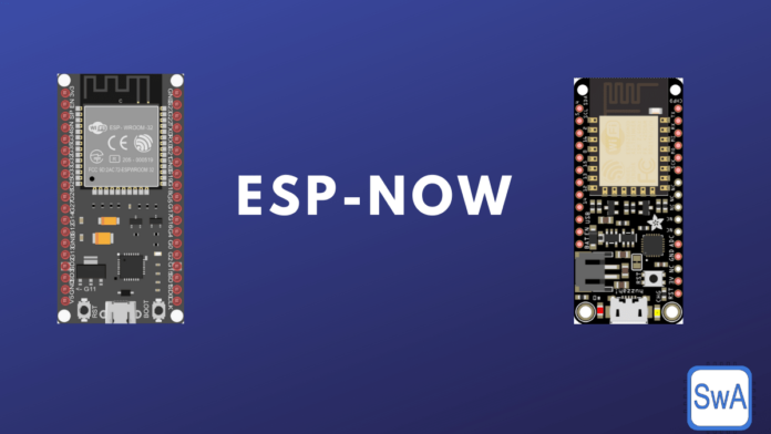 ESP-Now protocol: Connect ESP32 and ESP8266 to send and receive data