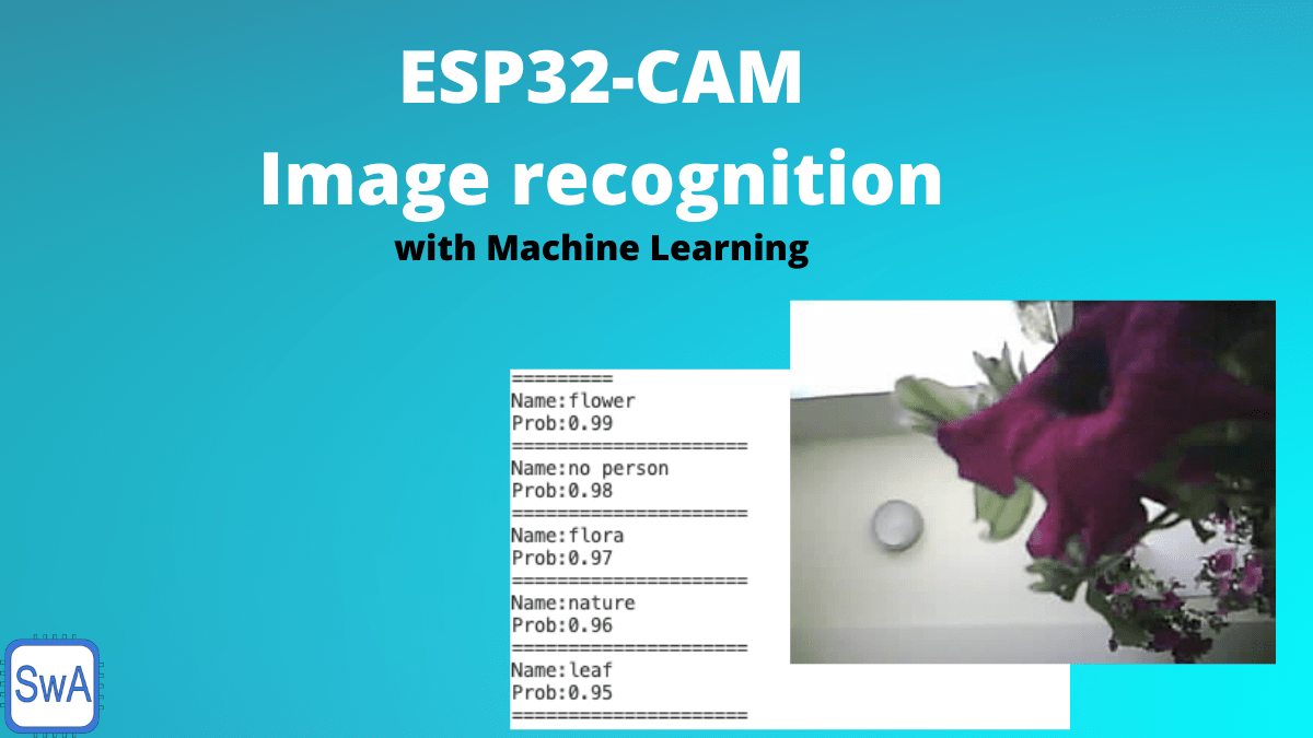 Apply machine learning to ESP32-CAM to enable image recognition