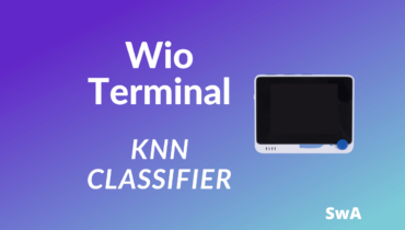 Wio Terminal KNN classifier
