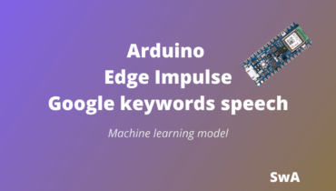 Arduino Edge Impulse keywords speech